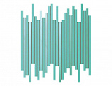 9DLT Dwell Turquoise Mosaico L 30.5x26 Глянeц